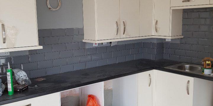 New kitchen fitted in Jordanstown