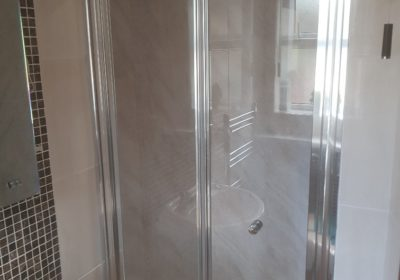 Multipanel and Shower Doors fitted in Antrim